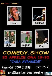 Comedy Show la Casa Avramide
