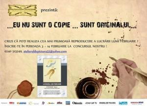 Concurs Muzeul de Arta 3-14 februarie 2014
