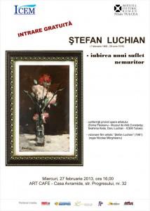 Stefan Luchian - Iubirea unui suflet nemuritor