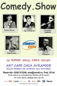 comedy show 15 iunie