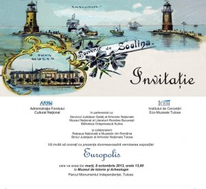 invitatie Europolis octombrie 2013