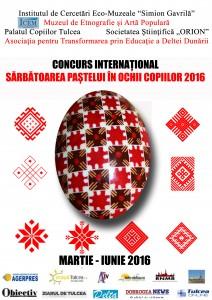 Afis Concurs  Paste 2016