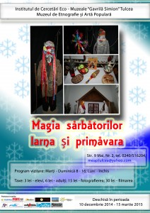 Afis expo Magia sarabatorilor