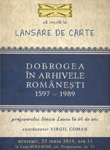Dobrogea in arhivele romanesti
